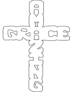 Free Scroll Saw Patterns by Arpop: Religious