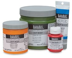 info on types of paint to use while painting a mural Liquitex Soft Body Artist Acrylics