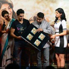 Armaan Jain and AR Rahman unveil the music of Bollywood movie Lekar Hum Deewana Dil, at JW Marriott hotel, on June 12, 2014.(Pic: Viral Bhayani)See more of: Kareena Kapoor, Deeksha Seth, Armaan Jain, AR Rahman