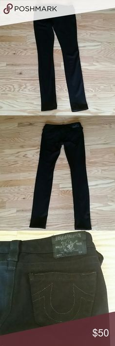 SOLD True Religion Stella black Ponte pants sZ 24 No rips stains tears or pulls. True religion Ponte pants in size Black. Ponte Pants, True Religion Jeans, Black 7, Fashion Tips, Fashion Design, Fashion Trends, Stains, Skinny Jeans, Places