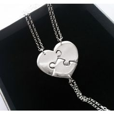 3 Best Friend Necklaces perfect for my bridesmaid jewelry!! Would make lovely bridesmaid gifts for my girls.