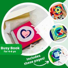 Kindergarten Quiet Book – tinyfeats Phonics Activities, Kindergarten Activities, Educational Activities, Learning Activities, Learning Toys, Recycling Games, Spencer Twin, Phonetic Sounds, Tangram Puzzles