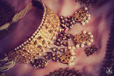 Vintage noserings, heirloom jewellery pieces and a trousseau that's been passed down from generations- this chic winter wedding…