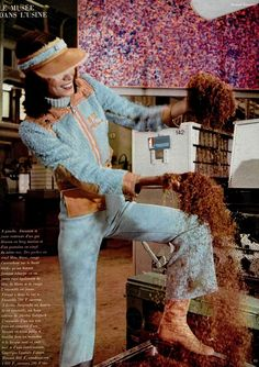 1972 #70's fashion #Courrèges