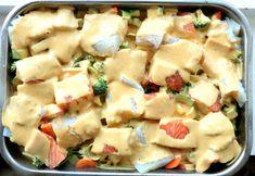 Hawaiian Pizza, Pasta Salad, Potato Salad, Potatoes, Fish, Ethnic Recipes, Crab Pasta Salad, Potato, Pisces