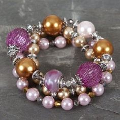 Gorgeous #Beaded #Bracelet