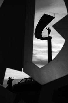 Galeria - Oscar Niemeyer pelas lentes de Haruo Mikami - 15