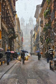 Via Condotti, Rome, Italy