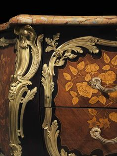 c1750 A LOUIS XV ORMOLU-MOUNTED TULIPWOOD AND ROSEWOOD BUREAU PLAT BY JEAN-GEORGES SCHLICHTIG, CIRCA 1750 Price realised USD 27,500