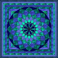 Looks like a stained glass window, but it is a quilt!!!