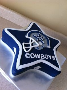Dallas Cowboys Cake - Bing Images @Kimberly Peterson Peterson Olson Raygoza for Marco's birthday !!