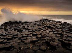 Oct 5th, 2011. Giant's Causeway, Ireland. Lots of legends about this place. They all seem to involve the Irish warrior Fionn mac Cumhaill and fighting and the Scots