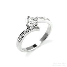 1 Carat Engagement Rings Vintage Rose Gold 38