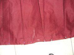 MissMigraine's pleated skirt tutorial