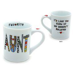 Cuppa Doodle Aunt Mug $11.00