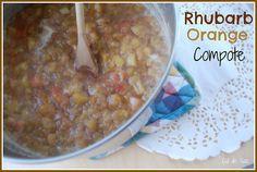 rhubarb orange compote rhubarb orange compote 2 saves