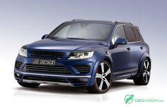 2015 Je Design Volkswagen Touareg 7P R-Line