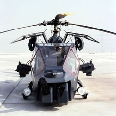 The helicopter used for Blue Thunder was a French-made Aérospatiale Gazelle modified with bolt-on parts and an Apache-style canopy. Two modified Gazelle helicopters, a Hughes 500 helicopter, and two fighter aircraft were used in the filming of the movie. Military Helicopter, Military Aircraft, Film Blue, Military Weapons, Military Equipment, Jet Plane, War Machine, Gi Joe, Thunder