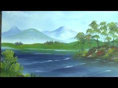 "Oil Painting with Svetlana Kanyo ""Lake view"" - YouTube"