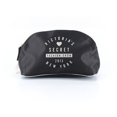 Victoria's Secret Makeup Bag (490 MXN) ❤ liked on Polyvore featuring beauty products, beauty accessories, bags & cases, black, travel kit, toiletry kits, makeup bag case, victoria's secret and travel bag