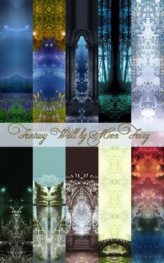 Fantasy Wall by MoonFairy at Everything for your sims via Sims 4 Updates