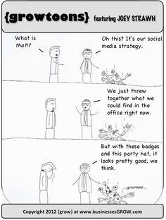 #SocialMedia Strategy