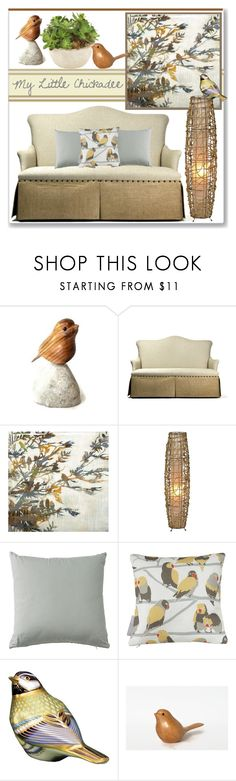 """My Little Chickadee"" by stephlo-1 ❤ liked on Polyvore featuring interior, interiors, interior design, home, home decor, interior decorating, Zentique, Ballard Designs, Aimée Wilder and Royal Crown Derby"