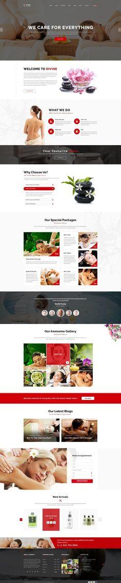 Divine - Commerce WordPress Template by DigitalCenturySF on @creativemarket