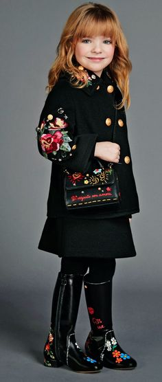 ALALOSHA: VOGUE ENFANTS: Must Have of the Day: Welcome in the cold weather with Dolce & Gabbana