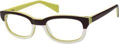 Women's Green 4849 Acetate Full-Rim Frame | Zenni Optical Glasses-APFmQayv