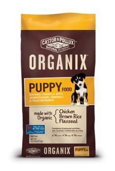 Organix Puppy Dry Dog Food, 14.5-Pound - List price: $37.99 Price: $35.99 + Free Shipping