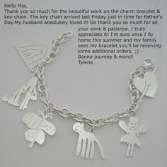 your child's drawing on jewelry - www.formiadesign.com Love this so much! Key chain for Daddy's stocking this year?