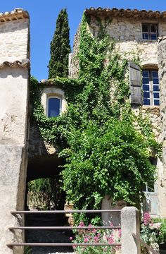 Vaugines, a Marcel Pagnol village and home to Peter Mayle