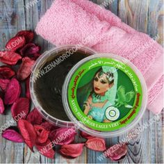 الصابون المغربي الأسود للتقشير بالصبار Black Soap Soap Aloe
