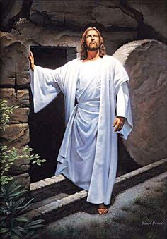 Resurrected Jesus - Admire, Love, Trust, Living Because Of, can't say enough!