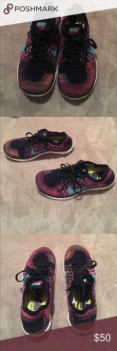 Brand new Nikes! Nike free 4.0 NWOT. These were a gift & they are not my style. Very very light weight shoes! I've never worn them & I know they had to be expensive so they need to be shown off! Nike Shoes Athletic Shoes