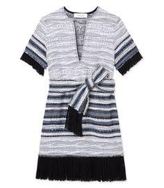 10 Crosby Derek Lam: Tweed V-Neck Dress