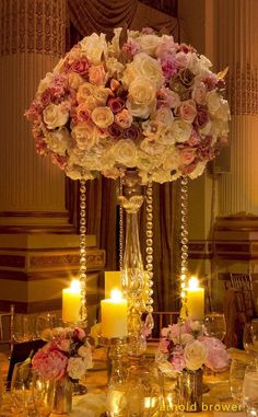 Oh my gorge! Glamorous wedding centerpieces arethe center of attention at these absolutely beautiful receptions. All of your family and friends will spend a huge chunk of time surrounding your reception tables, so you want to make sure the decor is exceptionally extraordinary. There's tons ofsparkle and beauty in these perfect glamorous wedding centerpieces.The florals, […]