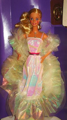 Crystal Barbie Also in my collection. She had the best accessories