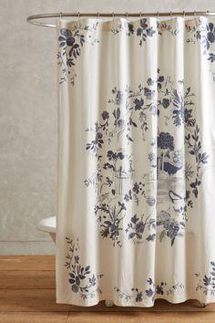 Kojani Sketch Shower Curtain - anthropologie.com