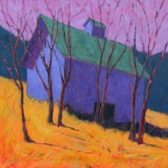 Peter Batchelder : New England Contemporary Artist : Amongst the Trees