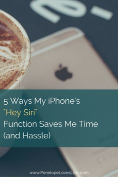 Best ways to use your iPhone to organize your life. Siri is My Personal Assistant :: 5 Ways My iPhone Saves Me Time and Hassle http://penelopeloveslists.com/organize/5-ways-siri-saves-me-time-and-hassle/?utm_campaign=coschedule&utm_source=pinterest&utm_medium=Penelope%20Loves%20Lists&utm_content=Siri%20is%20My%20Personal%20Assistant%20%3A%3A%205%20Ways%20My%20iPhone%20Saves%20Me%20Time%20and%20Hassle