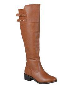 Look at this #zulilyfind! Chestnut Chloe Boot by Journee Collection #zulilyfinds