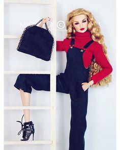 @integritytoys Erin S. Lady In Red #fashionista #fashion #autumnfashion #autumn #vixen #blonde #redlips #style #stylish #styleinspiration #ootd #thommyhilfiger #tommyhilfiger #gigihadid #doll #dolls #toy #toys #toystagram #fashion #editorial #stellamccartney