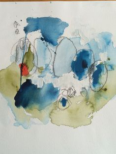 Mixed Media Watercolor Gouache Charcoal by TheresaBenavidezArt, $45.00