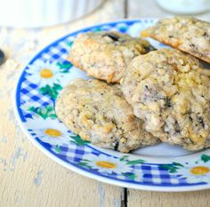 Blueberry Muffin Oatmeal Cookies from The Seasoned Mom