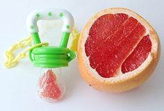 Amazon.com : New Baby Food Feeder Soother Teether for Eating Fresh Fruit Vegetables Meat Choke Free From Pickabest Product. Safe High Quality Storage Container Silicone Nipple. Bonus Pacifier Clip. Green. Enhance Baby's Eating Experience Now : Baby