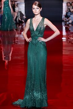 Elie Saab Fall 2013 Couture Fashion Show Collection