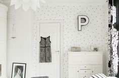 my scandinavian home: Tuesday DIY: fab yet simple way to update a wall