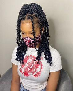 Twist Braid Hairstyles, Braided Hairstyles For Black Women, Braids For Black Hair, My Hairstyle, Black Girl Braids, Braids For Black Women, Twist Braids, Braids With Natural Hair, Braids With Color
